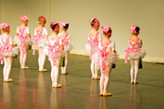 Image of children at a ballet recital