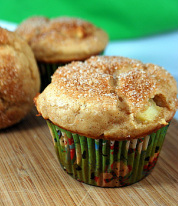 Image of apple cinnamon muffins