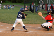 Image of young boys playing baseball